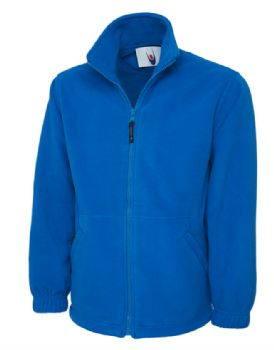 Personalised Embroidered Royal Blue Fleece 2XL